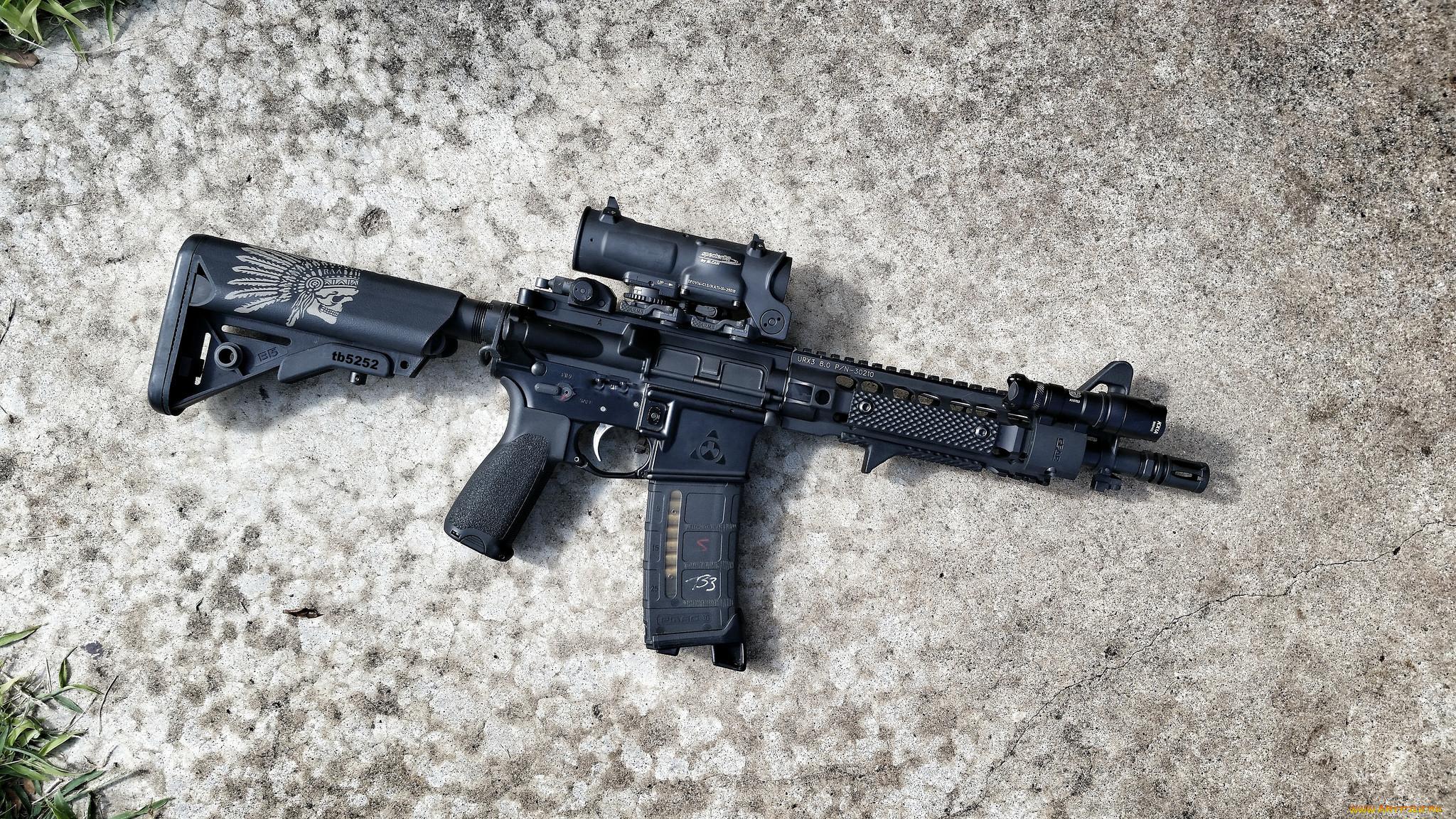 оружие, автоматы, фон, автомат, штурмовая, винтовка